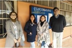 Escuela Llano Subercaseaux comuna de San Miguel