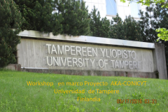 Universidad de Tampere Finlandia