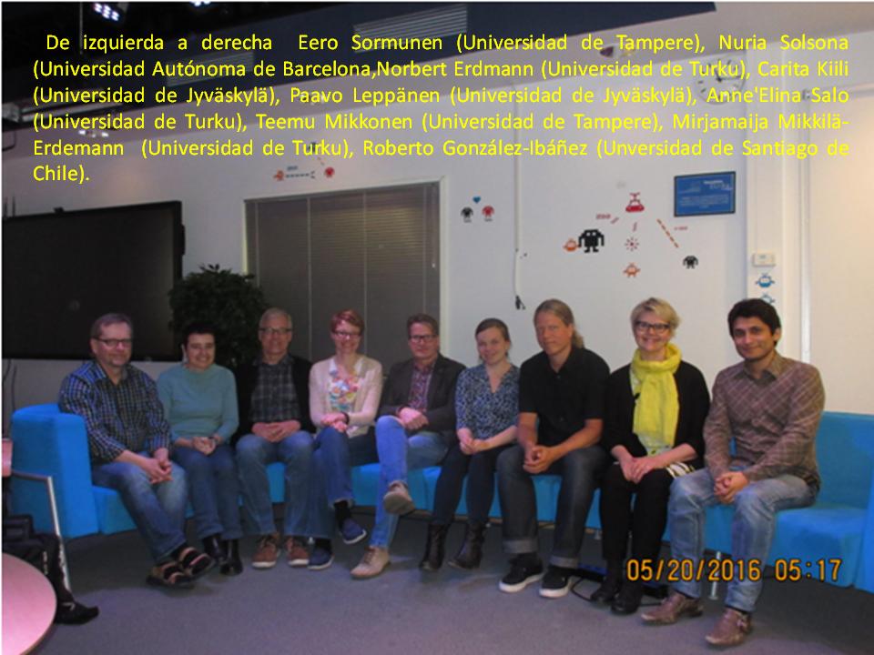 Equipo Participantes Wolrkshop