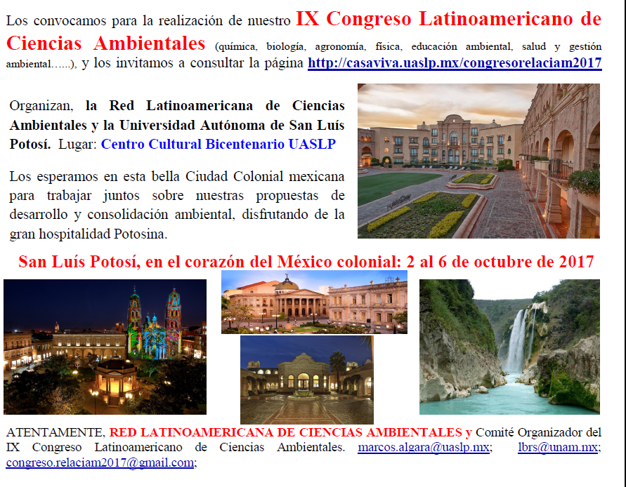 IXCCongresoLatinomaericano