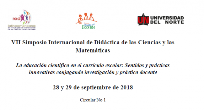 VII Simposio Internacional Didáctica Matemá 2018