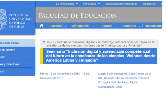 Seminario Inclusiion Digital 14nov2018