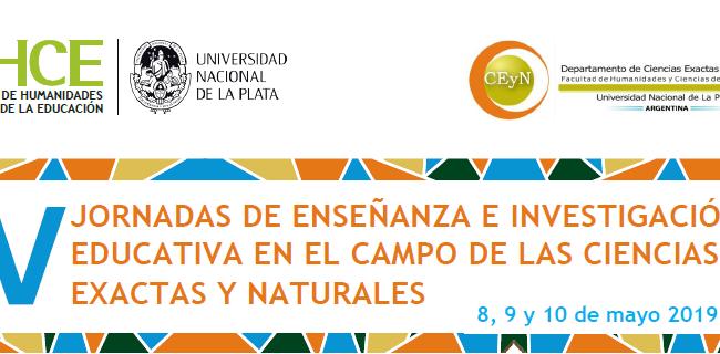V Jornadas Enseñanza e Investigación Ciencias Argentina 8 a 10 mayo