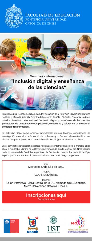 Seminario Inclusion Digital 10 julio