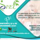II Simposio Investigación Enseñanza de la Ciencias