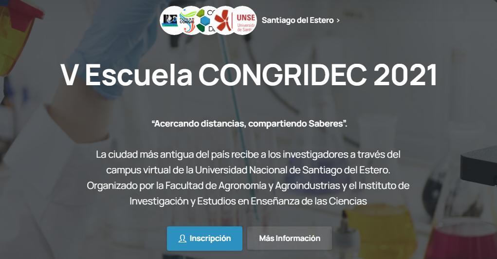 V Escuela Docente Congredicec2021