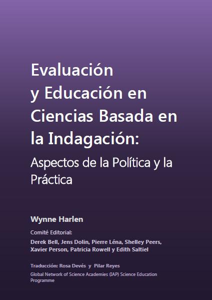 Evaluación y Educación en Ciencias Basada en la Indagación: Aspectos de la Política y la Práctica
