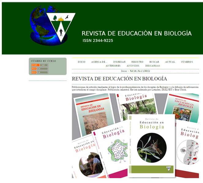 Revista de Educación en Biología