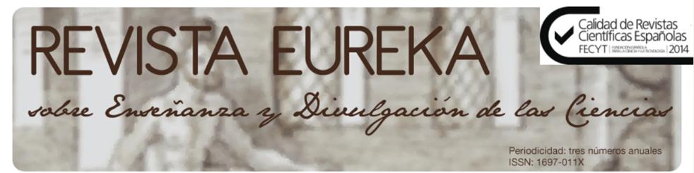 Revista  Eureka sobre  enseñanza y divulgación de las ciencias