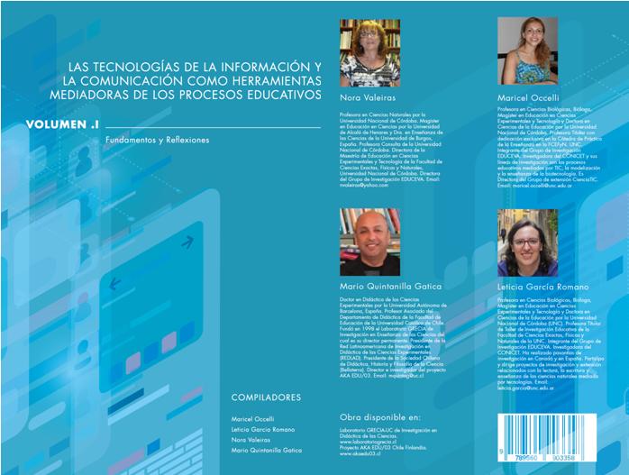 Las tecnologías de la información   y  la comunicación como herramientas  mediadoras de los procesos educativos .Volumen I   Fundamentos y reflexiones
