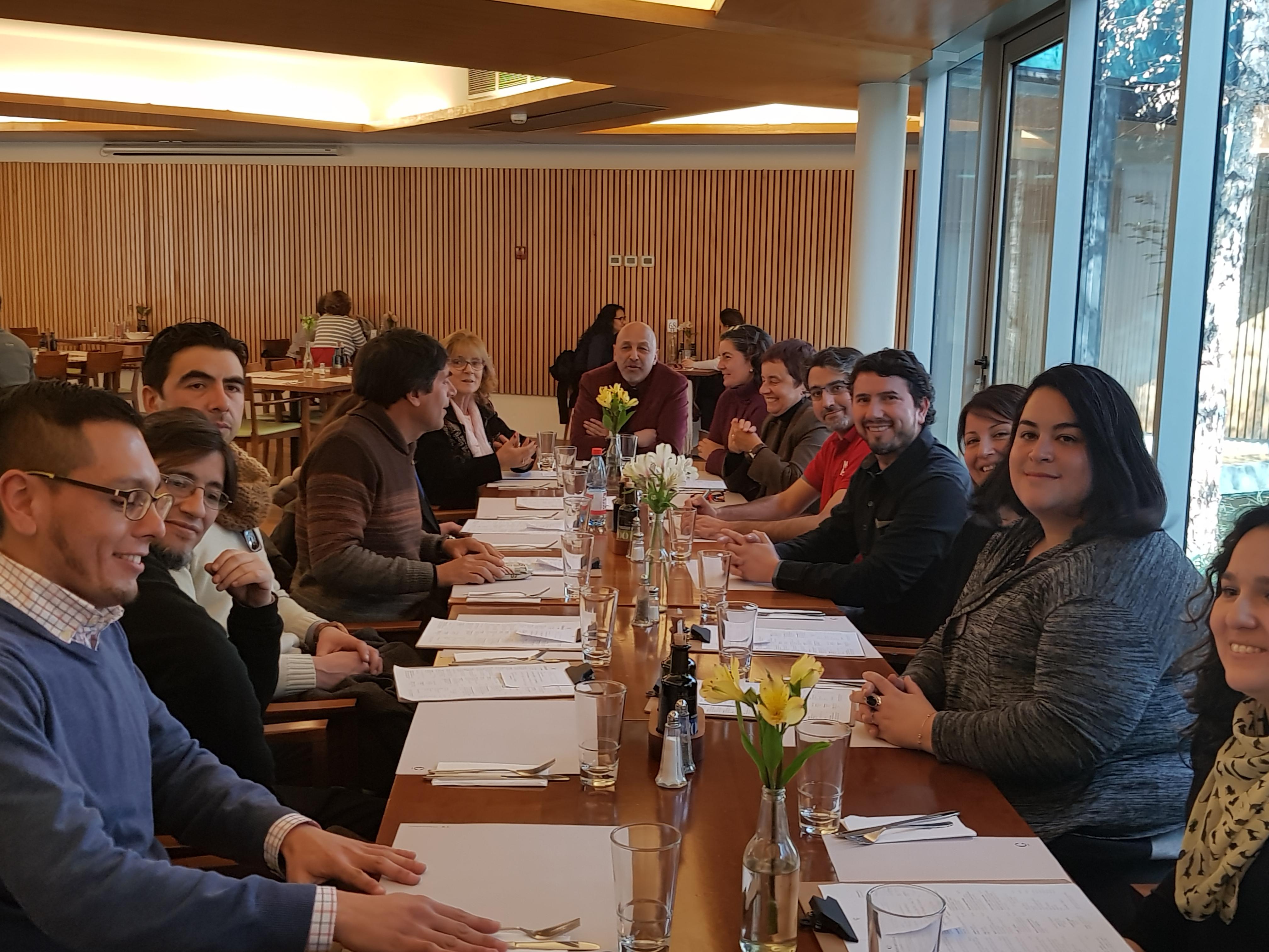 Foto Almuerzo Cinferencia Digitales
