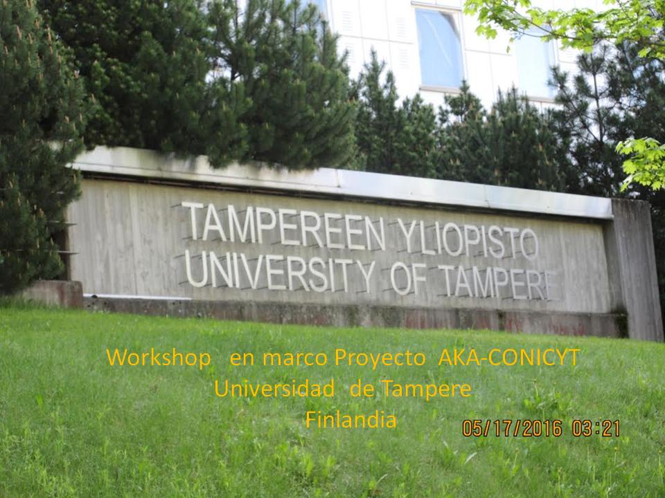 Universidad de Tampere Finlandia